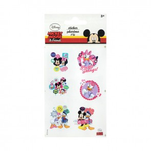 Mickey Mouse Sticker 3'lü Poşet