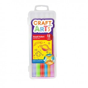 Craft And Arts Keçeli Kalem 12 Renkli Kutu