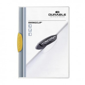 DURABLE SWINGCLIP 30 SF. Kapasiteli - Sarı