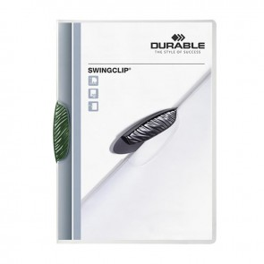 DURABLE SWINGCLIP 30 SF. Kapasiteli - Yeşil