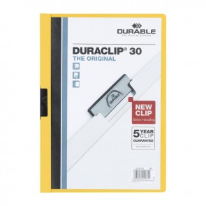 DURABLE DURACLIP Original 30 Sf. Kapasiteli - Sarı