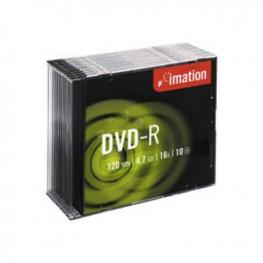 Imation DVD-R 4.7 GB 16X Slim Kutu 10'lu Paket