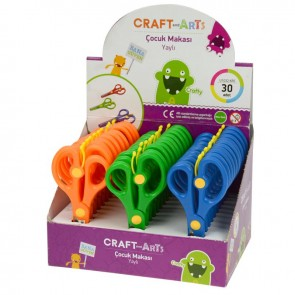 Craft And Arts Yaylı Makas 5,5' İnç