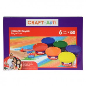 Craft And Arts Parmak Boya 6x50 ml