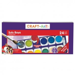 Craft And Arts Sulu Boya 24'lü Dğştrlblr
