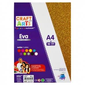 Craft And Arts Eva 10'lu A4 Simli