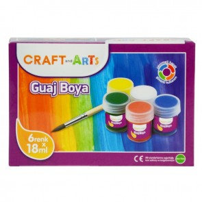 Craft And Arts Guaj Boya 6X18 Ml