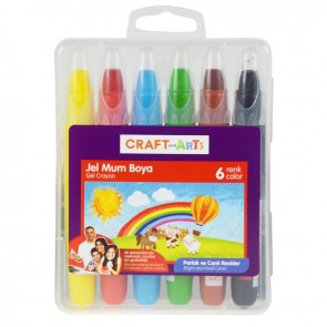 Craft And Arts Jel Mum Boya 6'Lı Paket