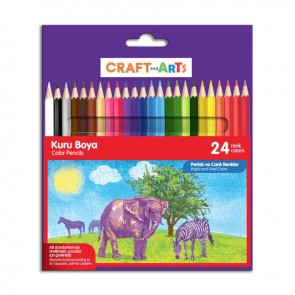 Craft And Arts Kuru Boya 24'lü Paket