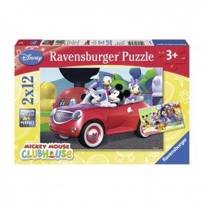 Ravensburger 2X12 Parça Wd Mickey Puzzle