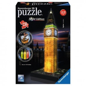 Ravensburger 3 Boyutlu 216 Parça Led'li Night Edition Big Ben London