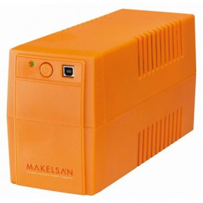 Makelsan Lion Plus 650va Line-Interactive Ups MU00650L11MP005