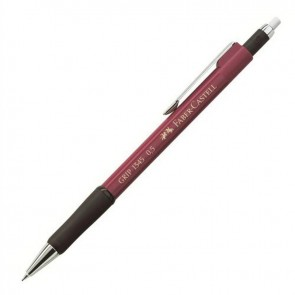 Faber Castell 1345 Grip 2B 0.5 mm Uçlu Kalem Bordo
