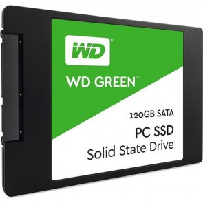 WD Green SSD 120 GB 2.5 SATA3 545MB/S 3DNAND WDS120G2G0A