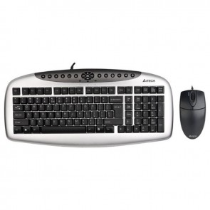 A4 Tech Kb-21620D Q TR MM Klavye Mouse Set Usb Kablolu