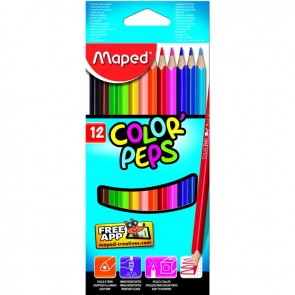 Maped Color Pep's Kuru Boya 12'li Kutu