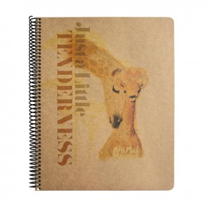 MYNOTE ANIMAL PLANET A4 100 Yaprak Kraft Kareli Defter Tenderness