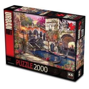KS Games Love In Venice Puzzle 2000 Parça
