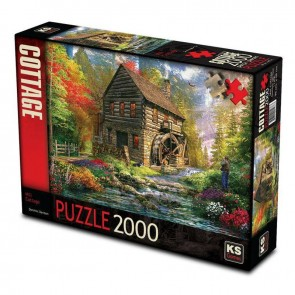 KS Games Mill Cottage Puzzle 2000 Parça
