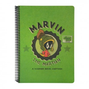 Looney Tunes A4 100 Yaprak Kareli Kraf Defter THE MARVIN