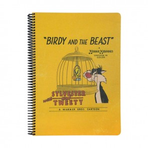 Looney Tunes A4 100 Yaprak Kareli Kraf Defter BIRDY and THE BEAST
