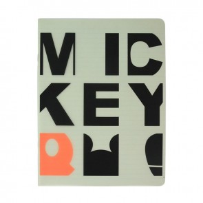 Mickey Mouse Campus Defter 26x18,5 40Yp.Çizgili Dsn 8