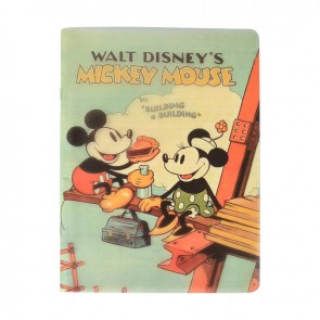 Mickey Mouse Campus Defter 26x18,5 40Yp.Kareli Dsn 1