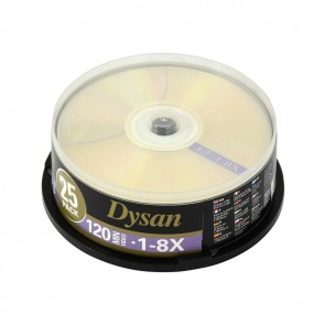Dysan DVD+R 4.7GB 8X Cakebox 25'li Paket