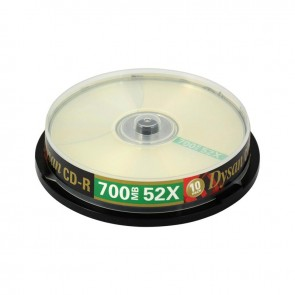 Dysan CD-R 700MB 52X Cakebox 10'lu Paket
